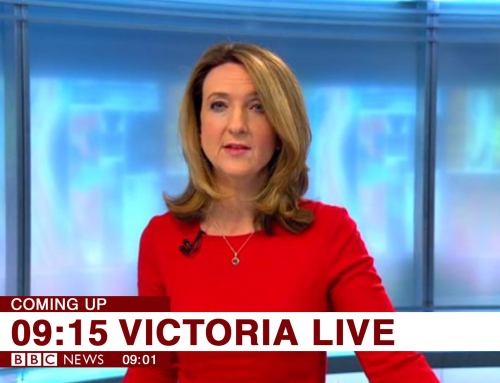 7 minutes of fame: Graham on the Victoria Derbyshire Show…