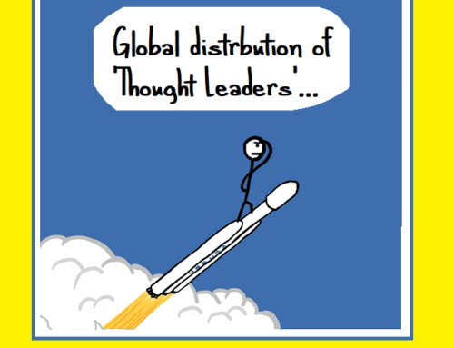 #4 Stats Corner – Global distribution of 'Thought Leaders':